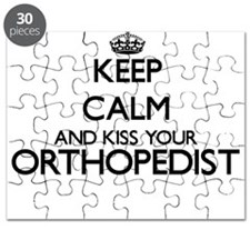 Keep calm and kiss your Orthopedist Puzzle