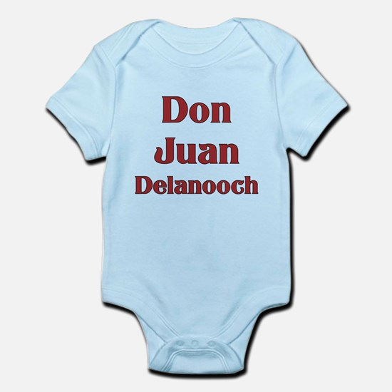 JAYSILENTBOB DON JUAN DELANOOCH Infant Bodysuit