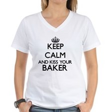 Keep calm and kiss your Baker T-Shirt