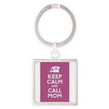 Cute College graduation Square Keychain