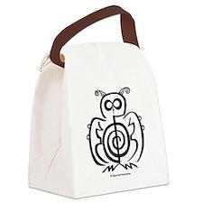 Reiki Owl Canvas Lunch Bag