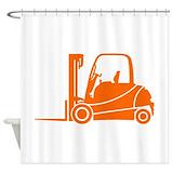 Forklift Shower Curtains