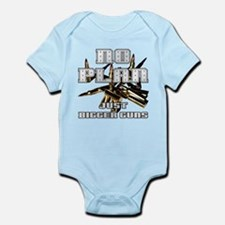DYLANDOG BIGGER GUNS Infant Bodysuit