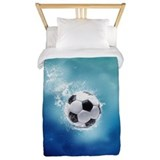 Soccer water splash Bedroom Décor