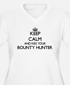 Keep calm and kiss your Bounty H Plus Size T-Shirt