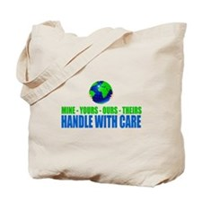 Earth - Handle With Care Tote Bag