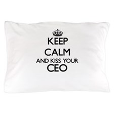 Keep calm and kiss your Ceo Pillow Case