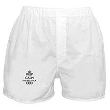 Keep calm and kiss your Ceo Boxer Shorts