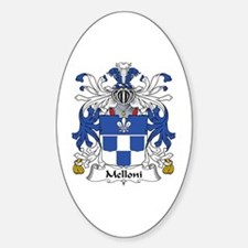 Melloni Oval Decal