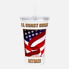 U.S. Coast Guard Acrylic Double-wall Tumbler