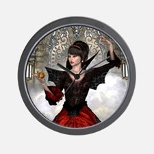 Beautiful Witch Wall Clock