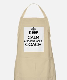 Keep calm and kiss your Coach Apron