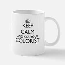 Keep calm and kiss your Colorist Mugs