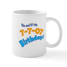 Kiss Me it's My July 7 Birthday Mug
