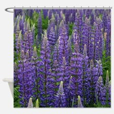 Lupine Forest Shower Curtain
