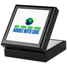 Earth - Handle With Care Keepsake Box