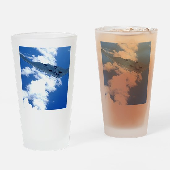 B-2 Spirit in the sky Drinking Glass