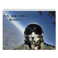 U.s. Air Force Bombers Wall Calendar
