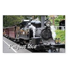 I'm just loco: steam engine, Victoria, Aus Decal