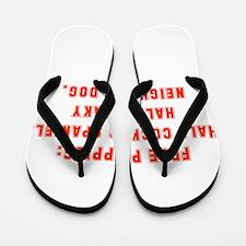 Free Puppies Flip Flops