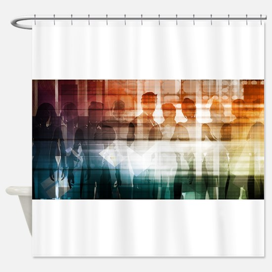 Empowered Professi Shower Curtain