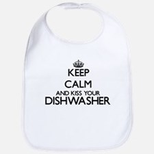 Keep calm and kiss your Dishwasher Bib