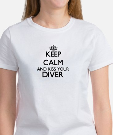 Keep calm and kiss your Diver T-Shirt