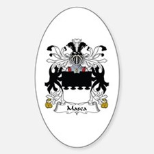 Masca Oval Decal
