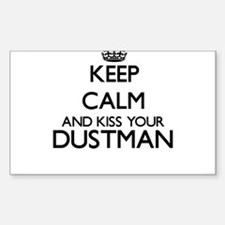 Keep calm and kiss your Dustman Decal