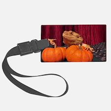 Autumn Beardie Luggage Tag