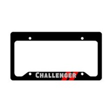 Challenger License Plate Holder
