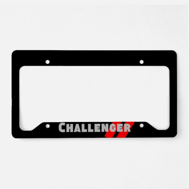 Challenger License Plate Holder