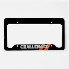 Challenger Racing Stripes License Plate Holder