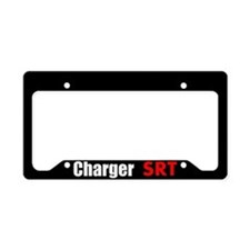 I Love My Charger License Plate Holder