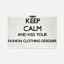Keep calm and kiss your Fashion Clothing D Magnets
