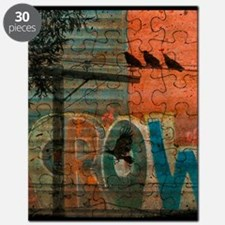 Crow Graffiti Puzzle