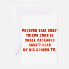 Whoever Said Great Things Come In Greeting Cards