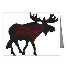 Cute Moose Note Cards (Pk of 20)
