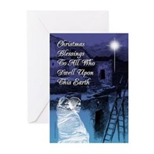 Christmas Blessings Cards (Pk of 10)