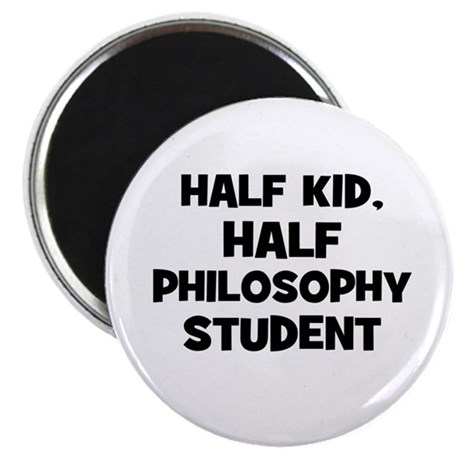 Half Kid, Half Philosophy Stu Magnet