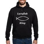 Lutefisk King Hoodie (dark)