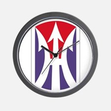 11th Light Infantry Brigade Insignia Pa Wall Clock