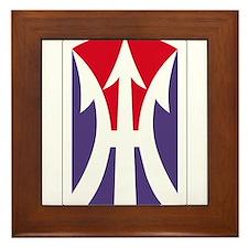 11th Light Infantry Brigade Insignia P Framed Tile