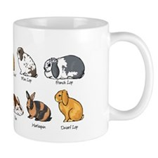 Cute The rabbit and Mug