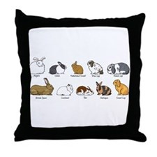 Cute Lops Throw Pillow
