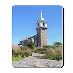 Isles of Shoals Meetinghouse Mousepad