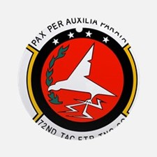 72nd Tactical Fighter Training.pn Ornament (Round)