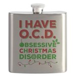 Ocd Obsessive Christmas Disorder Flask