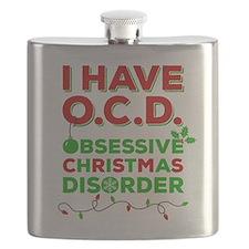 Ocd Obsessive Christmas Disorder Flask