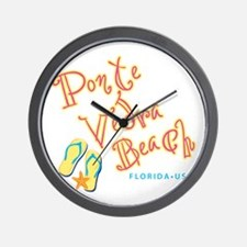 Ponte Vedra Beach - Wall Clock